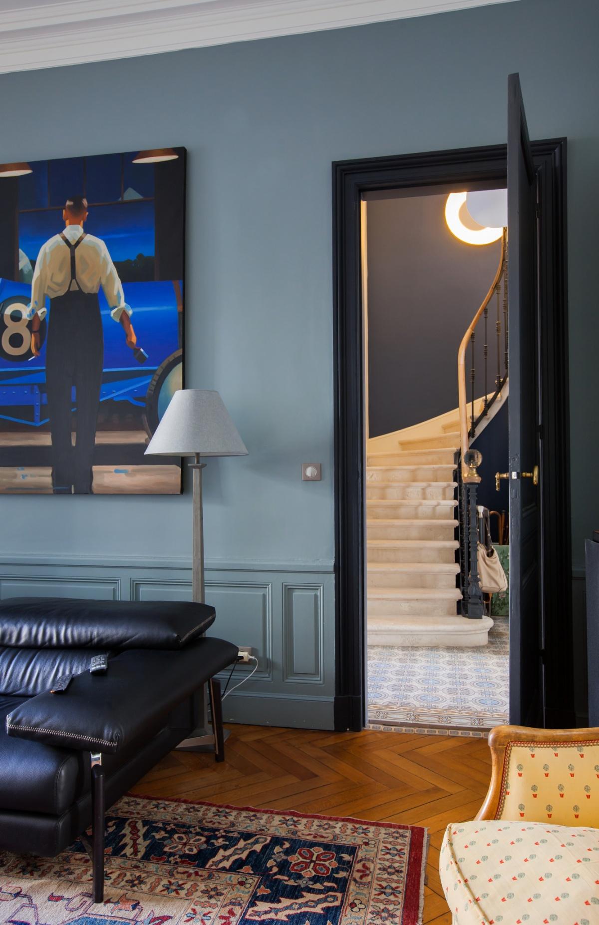 Maison C : Vue Escalier 1