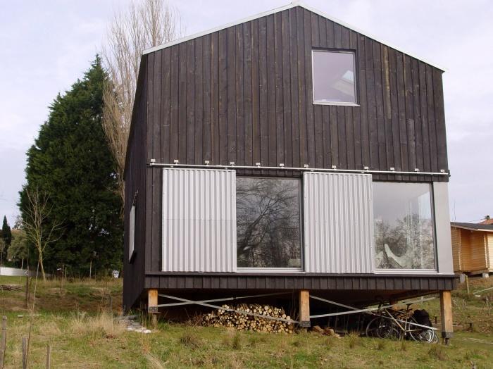 Maison individuelle à ossature bois