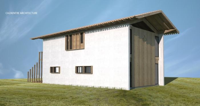 Maison contemporaine basque : 4