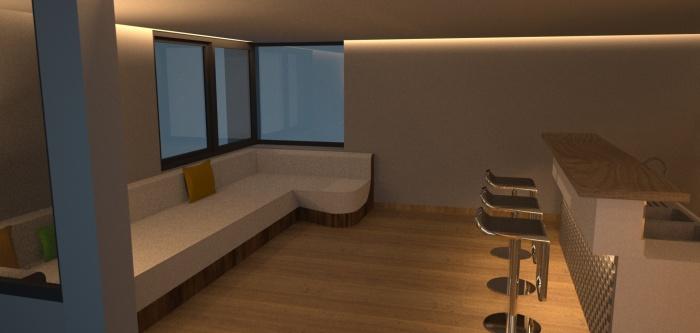 Réalisation de mobilier pour une villa