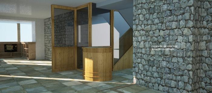 Aménagement de l'hôtel le Txistulari : Txistulari scéne 57