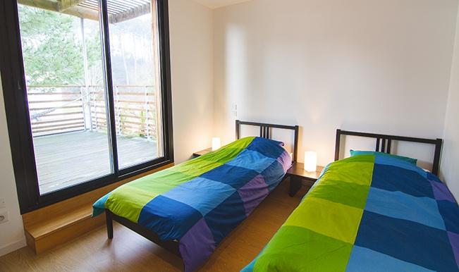 Maison individuelle ossature bois : Maison éco Seignosse Merlateau architecte 7