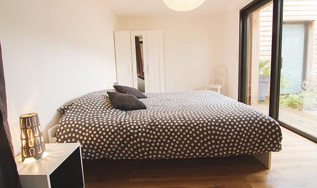 Maison individuelle ossature bois : Maison éco Seignosse Merlateau architecte 8