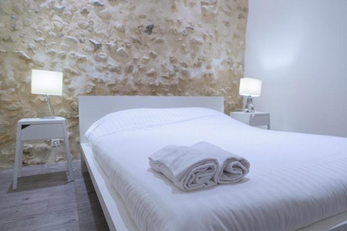 rénovation habitation et locaux professionnels : chambre blanche