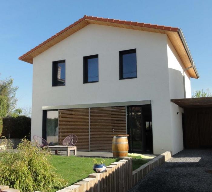 Réhabilitation et extension d'une maison (64)
