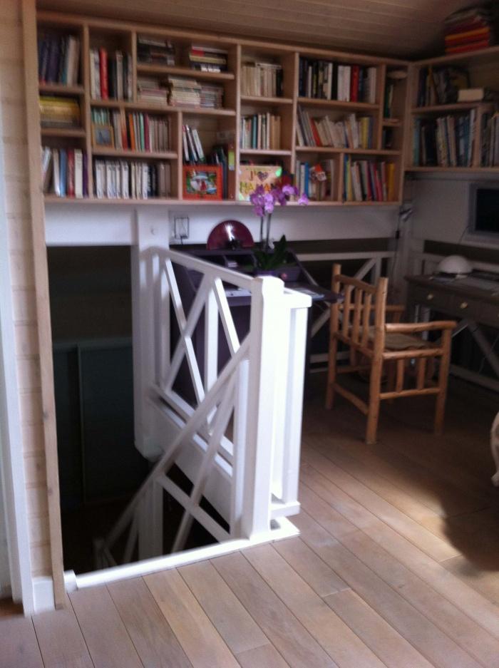 extension et rénovation habitation : 10 mezzanine avant travaux