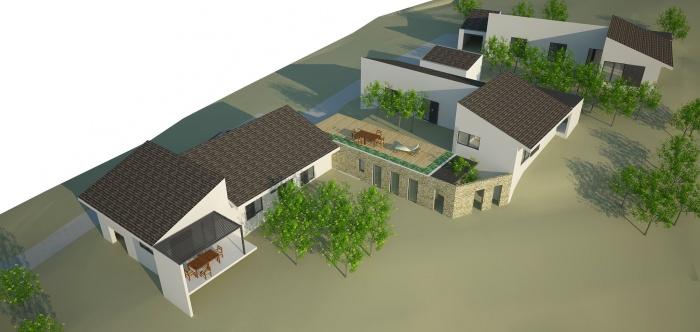 3 villas et un atelier pour artiste peintre : BOOK - PERS 017