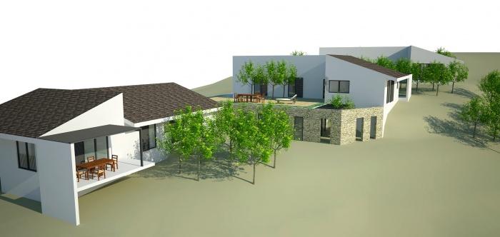 3 villas et un atelier pour artiste peintre : BOOK - PERS 010