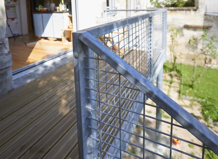 Rénovation partielle d'une échoppe à Bordeaux