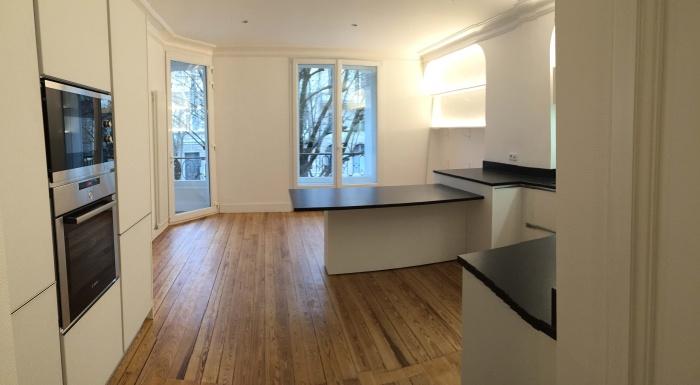 transformation Bureaux en appartement