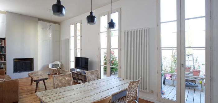 Réhabilitation complète appartement 3 pièces, et création d'une terrasse, quartier des Chartrons à Bordeaux. : image_projet_mini_82906