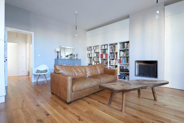 Réhabilitation complète appartement 3 pièces, et création d'une terrasse, quartier des Chartrons à Bordeaux.