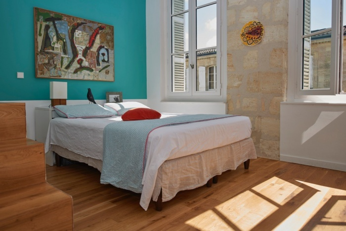 Réhabilitation complète appartement 3 pièces, et création d'une terrasse, quartier des Chartrons à Bordeaux. : réhabilitation appartement bordeaux W03