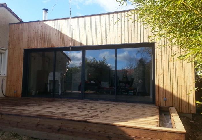 Rénovation et extension bois : 16