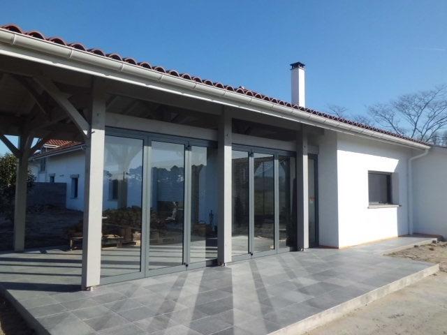Reconstruction d'une villa : Terrasse couverte