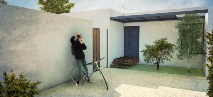 Villa contemporaine avec pergolas, terrasses et jardin. : image_projet_mini_92341