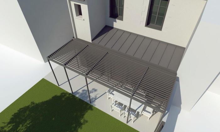 Rénovation et extension d'une échoppe bordeaulaise : 120B - VUE 002