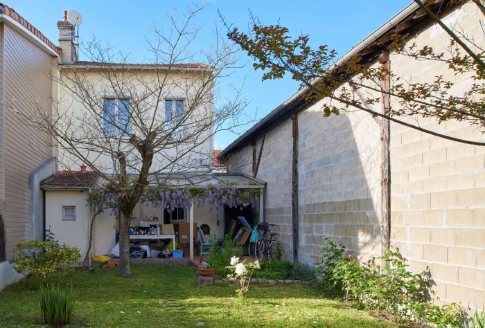 Extension en ossature bois d'une échoppe à Bordeaux Nord